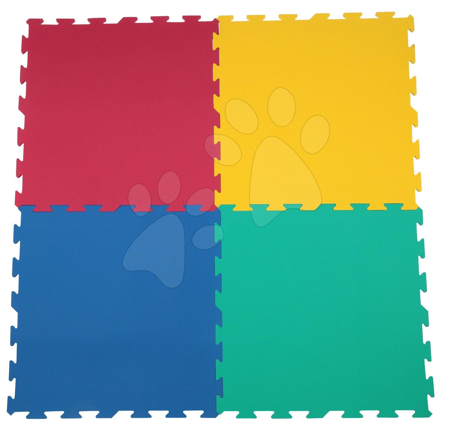 Podlahové puzzle pro miminka - Pěnové puzzle Lee podložka Lee Chyun pro nejmenší 4 díly od 0 měsíců