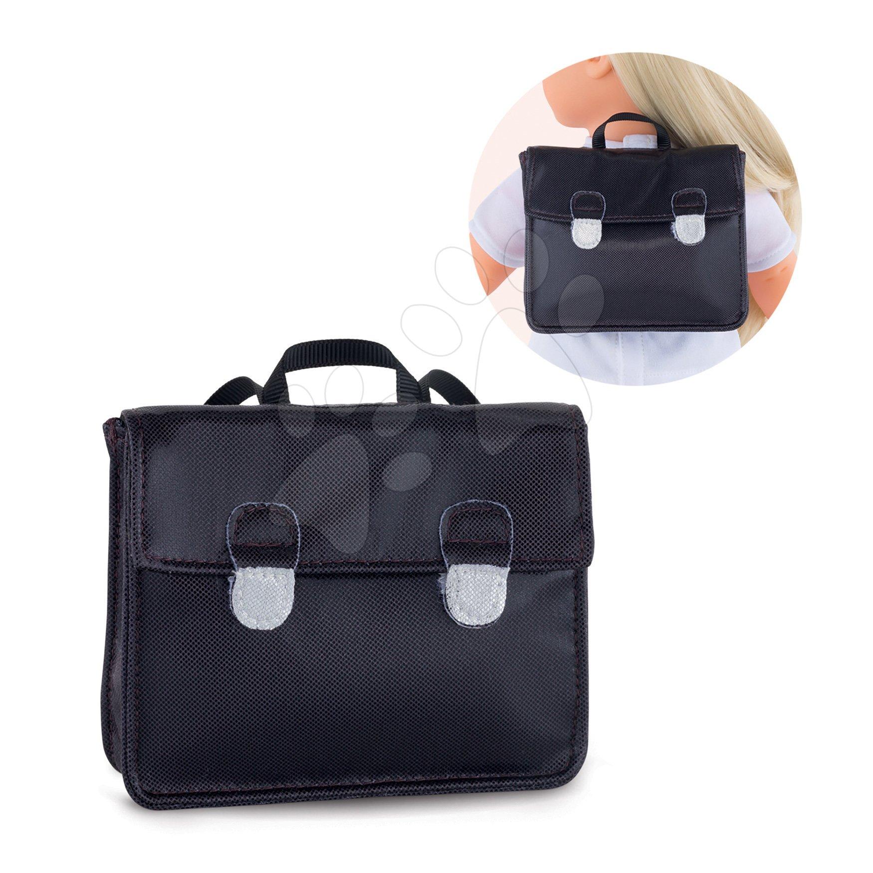 Školská aktovka School Bag Black Ma Corolle pre 36 cm bábiku od 4 rokov