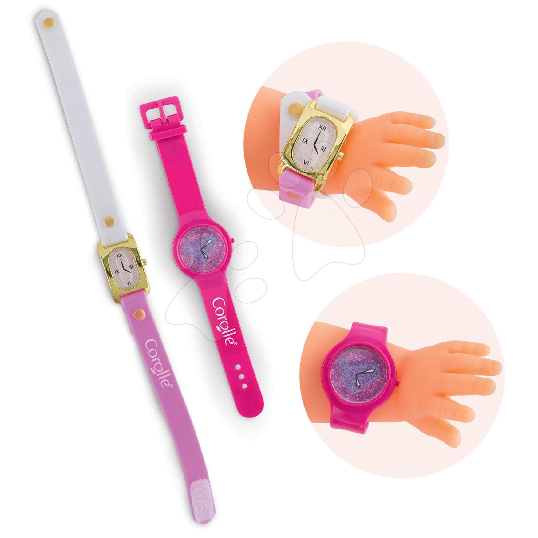 Náramkové hodinky Watches Ma Corolle 2 kusy pre 36 cm bábiku od 4 rokov