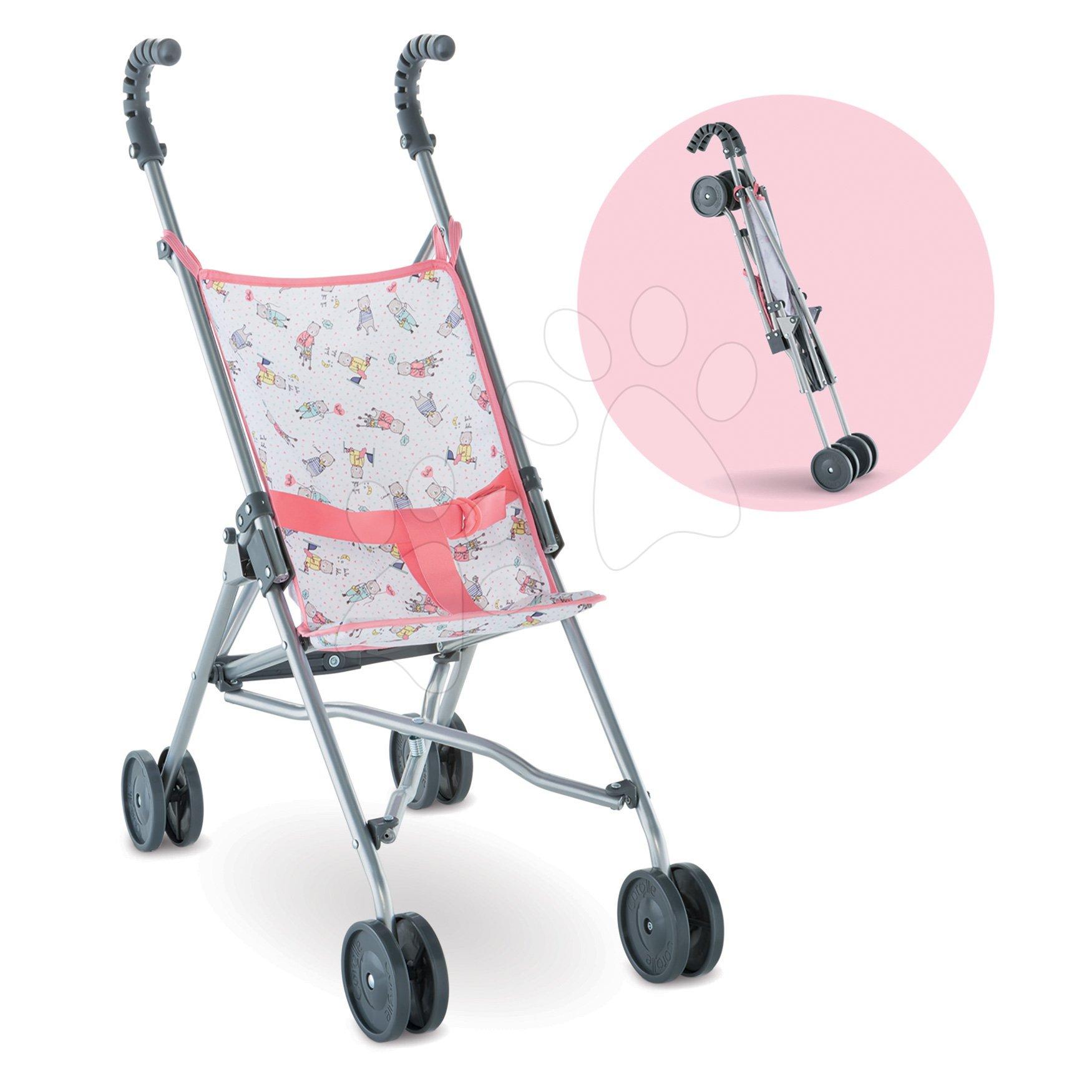 Kočárek Umbrella Stroller Mon Grand Poupon Corolle skládací pro 36-42 cm panenku od 24 měs