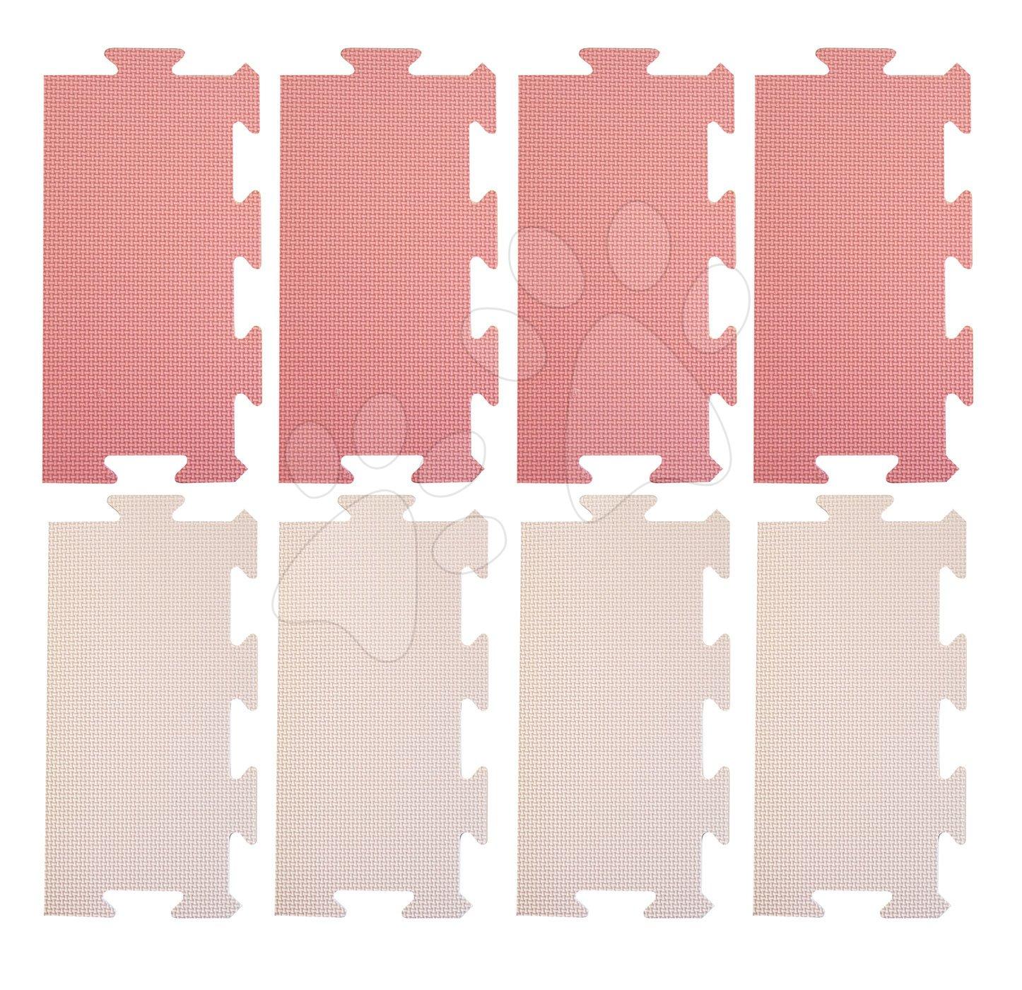 Okraje pro FM946-1P pěnové podlahové puzzle Lee Chyun 8 dílů 30*15 růžové od 0 měsíců