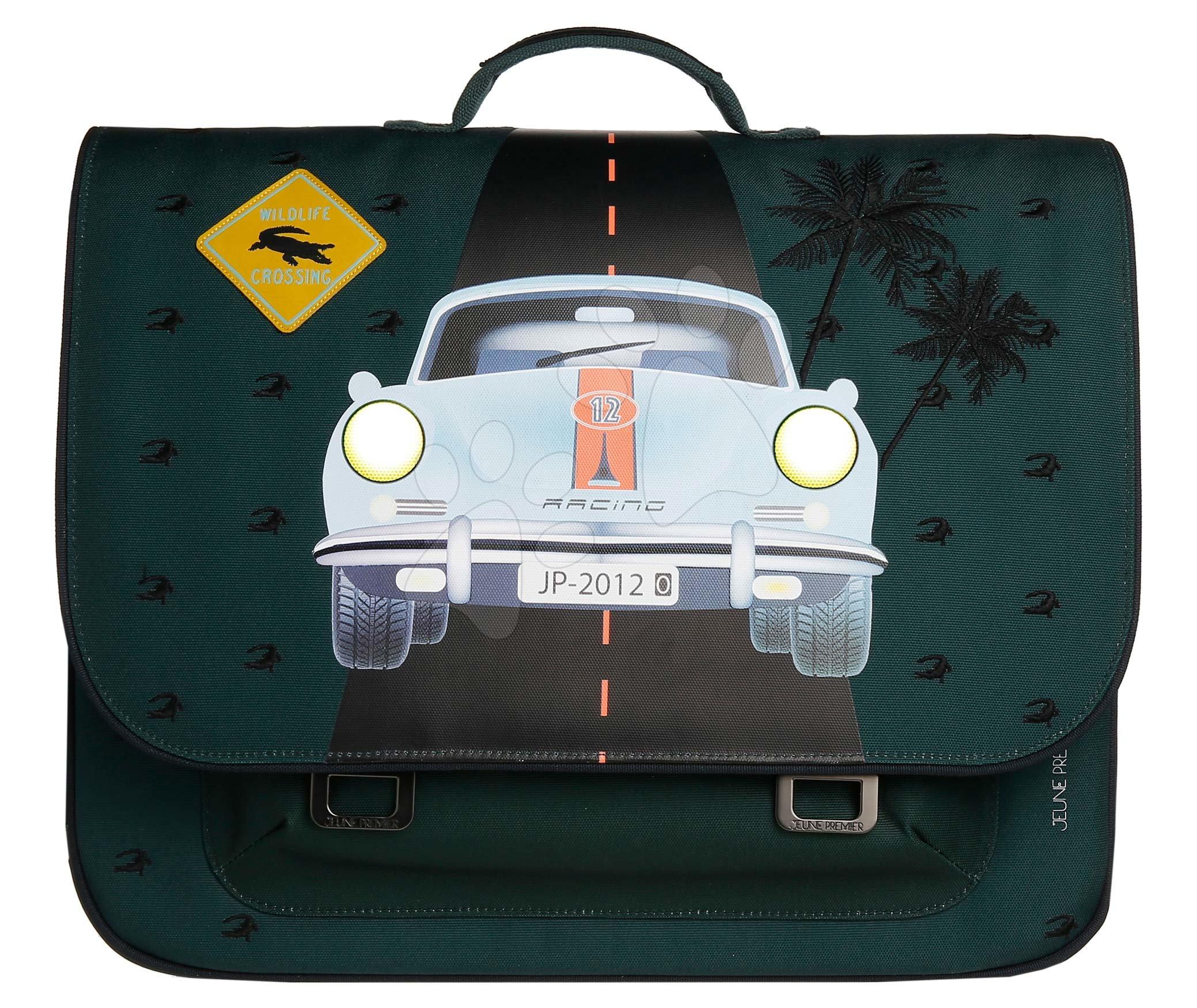 Školská aktovka It bag Maxi Monte Carlo Jeune Premier ergonomická luxusné prevedenie 35*41 cm