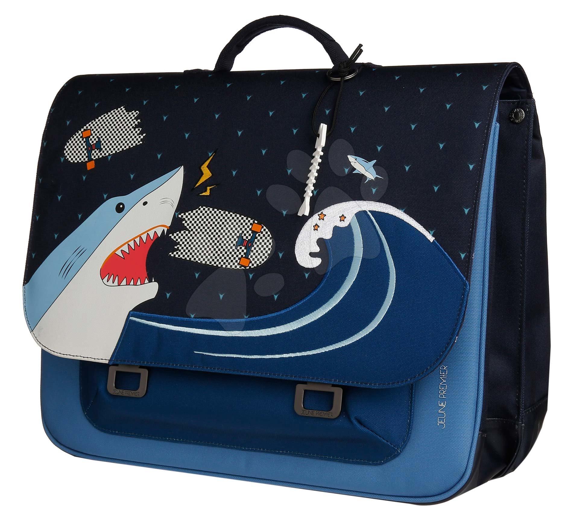 Školská aktovka It bag Maxi Sharkie Jeune Premier ergonomická luxusné prevedenie 35*41 cm