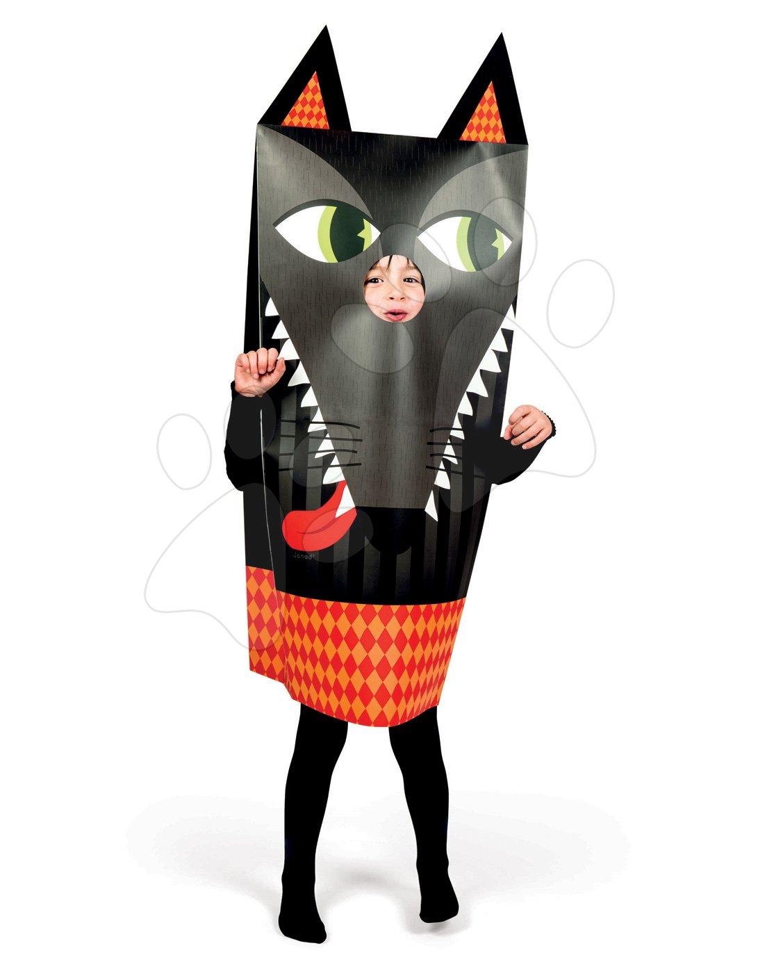 Ručné práce a tvorenie - Karnevalový kostým Vlk Sackanimo Janod