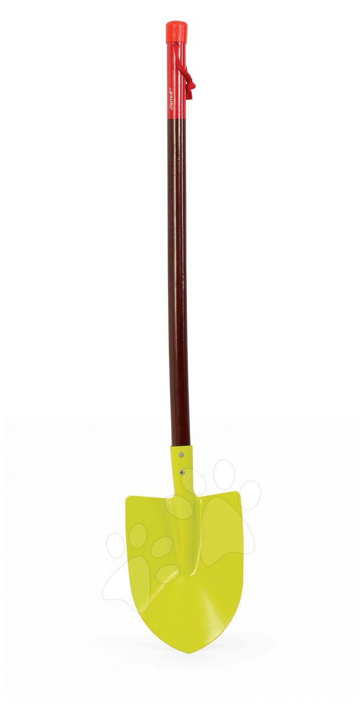 Hry na záhradníka - Rýľ Natur' Janod plechový s drevenou rúčkou zelený