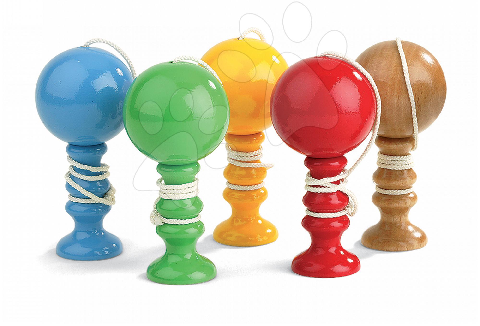 Drevená tradičná hračka Cadet Roussel Cup&Ball Janod od 7 rokov