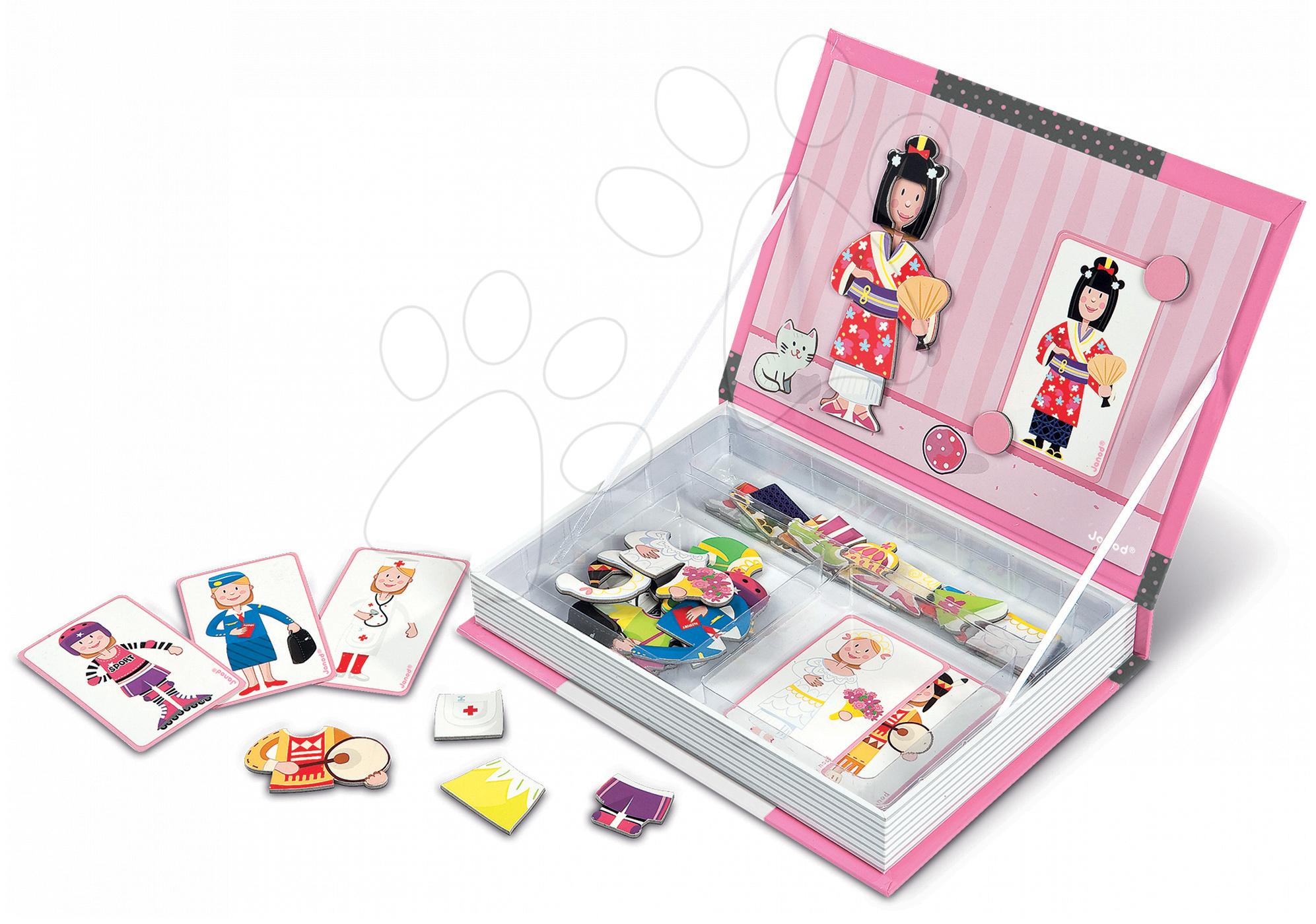 f7e8db6ddd1d Magnetická kniha Janod dievčenské outfity