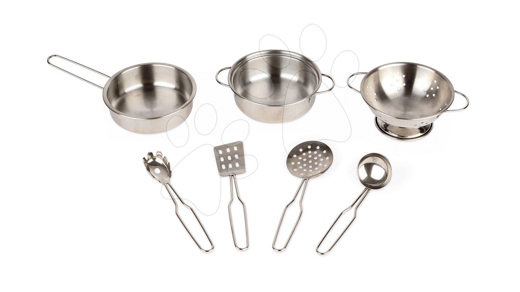 Riad do kuchynky Janod pochrómovaný 7 dielov
