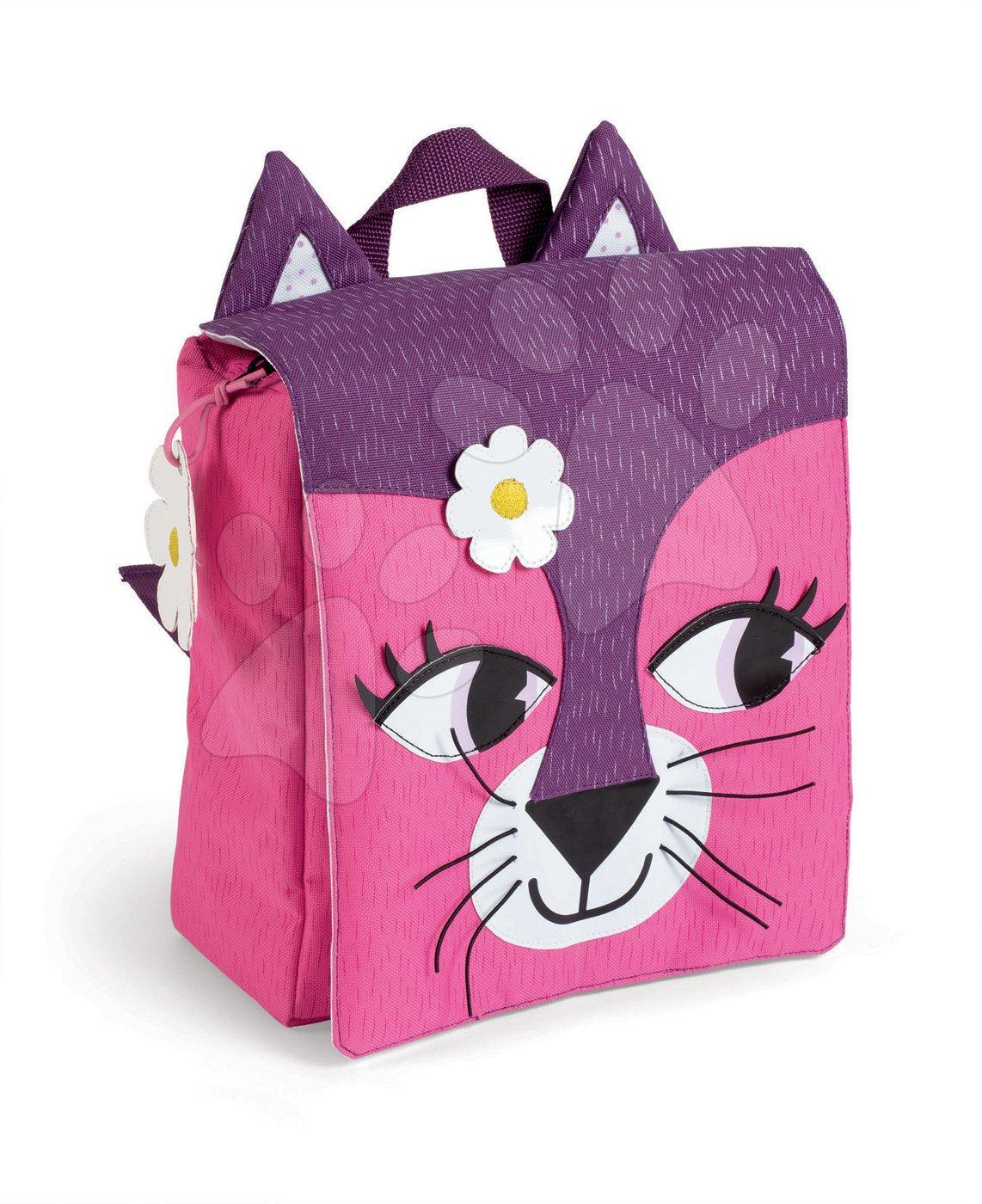 Školské tašky a batohy - Batoh Mačička Janod na zips od 3 rokov
