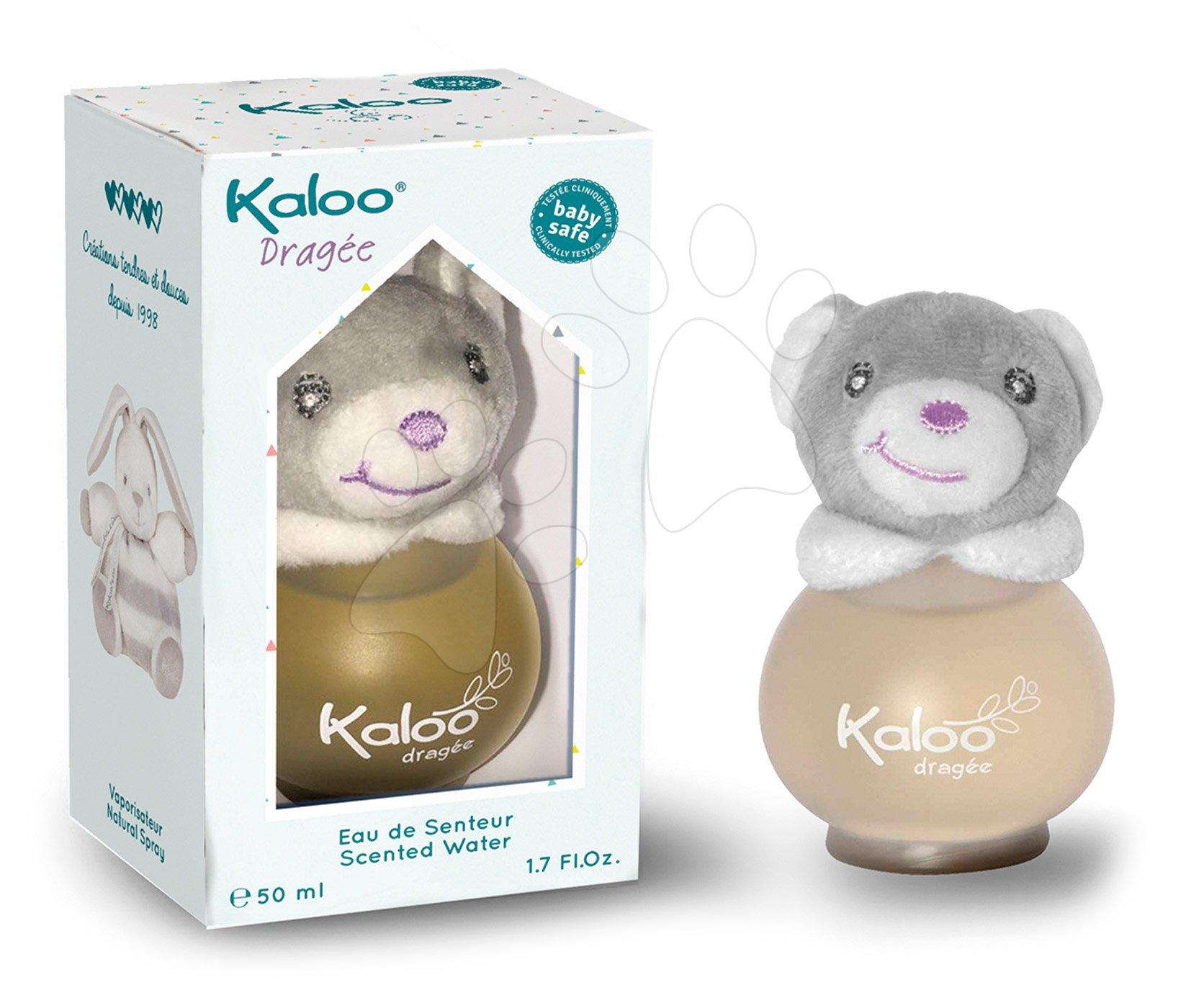 Toaletná voda pre najmenších Scented Water Kaloo White 50 ml biely medveď od 3 mes
