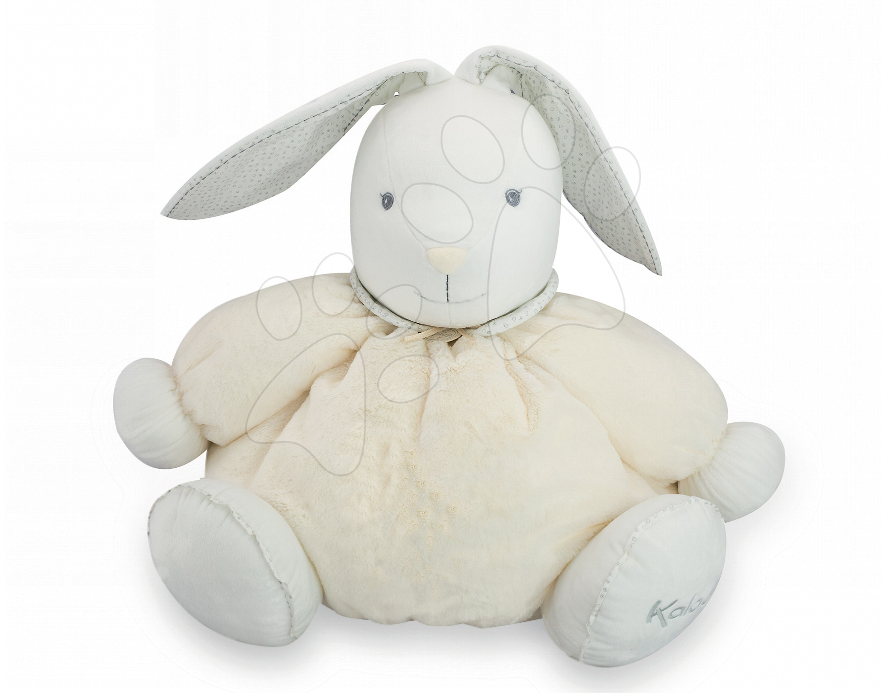 Plyšový králíček Perle-Maxi Rabbit Kaloo 50 cm pro nejmenší krémový