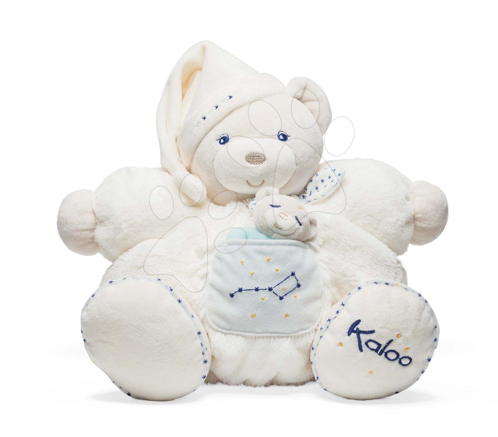Plyšový medvěd s mládětem Petite Etoile Chubby Bear and Baby Kaloo velký od 0 měsíců