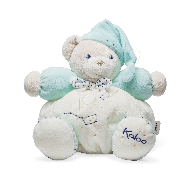 Plyšový medveď Petite Etoile Chubby Bear Kaloo stredný tyrkysový od 0 mesiacov