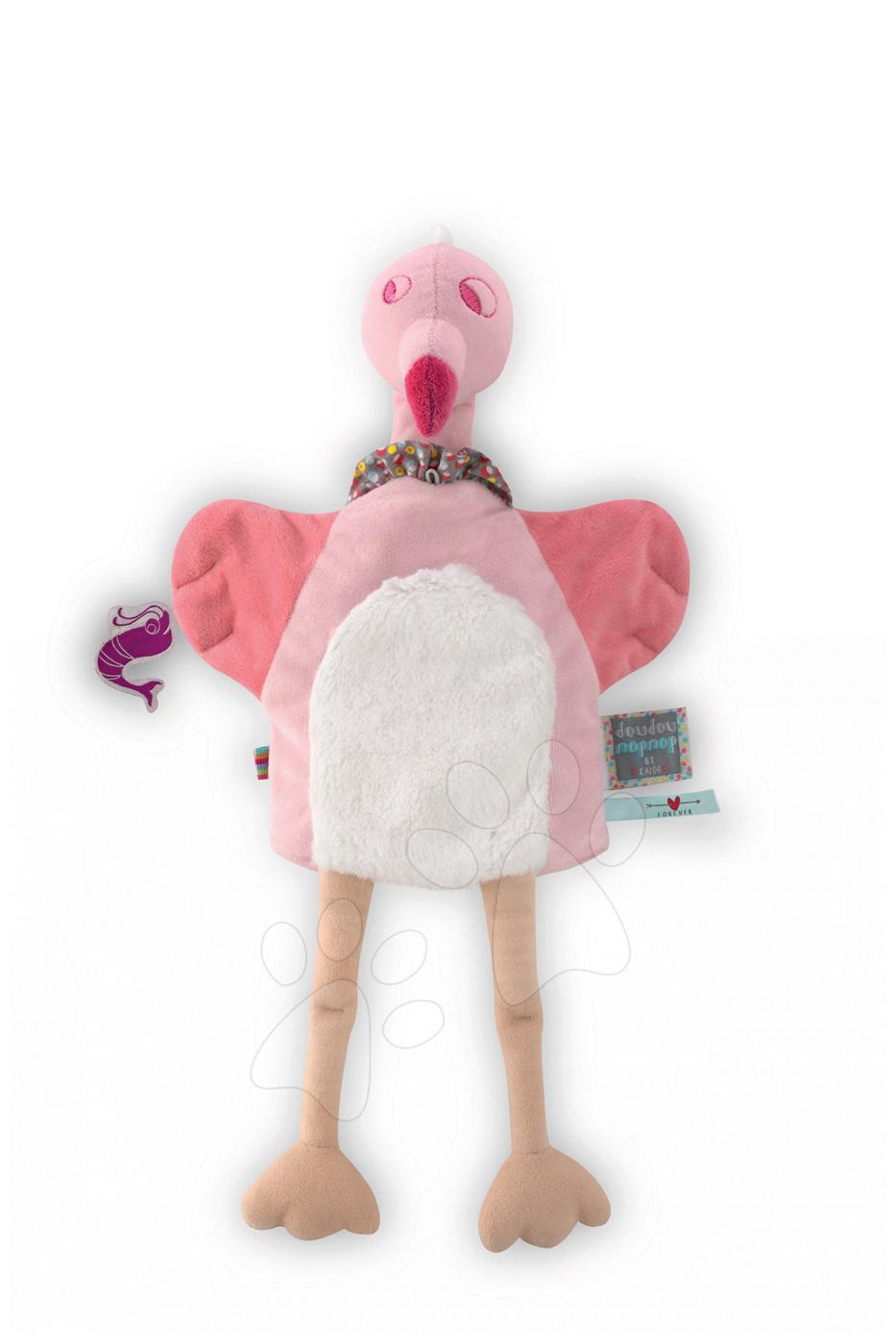 Kaloo plyšový plameniak Nopnop-Rose Flamingo Doudou 961400 ružový