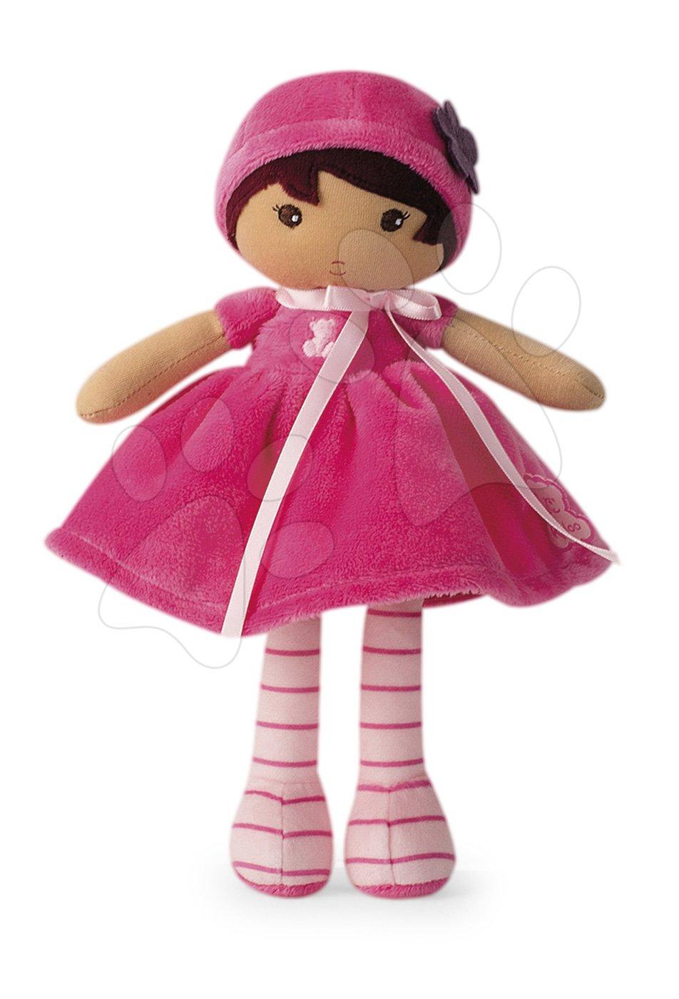Kaloo panenka pro miminka Emma K Tendresse v růžových šatech 25 cm 962084