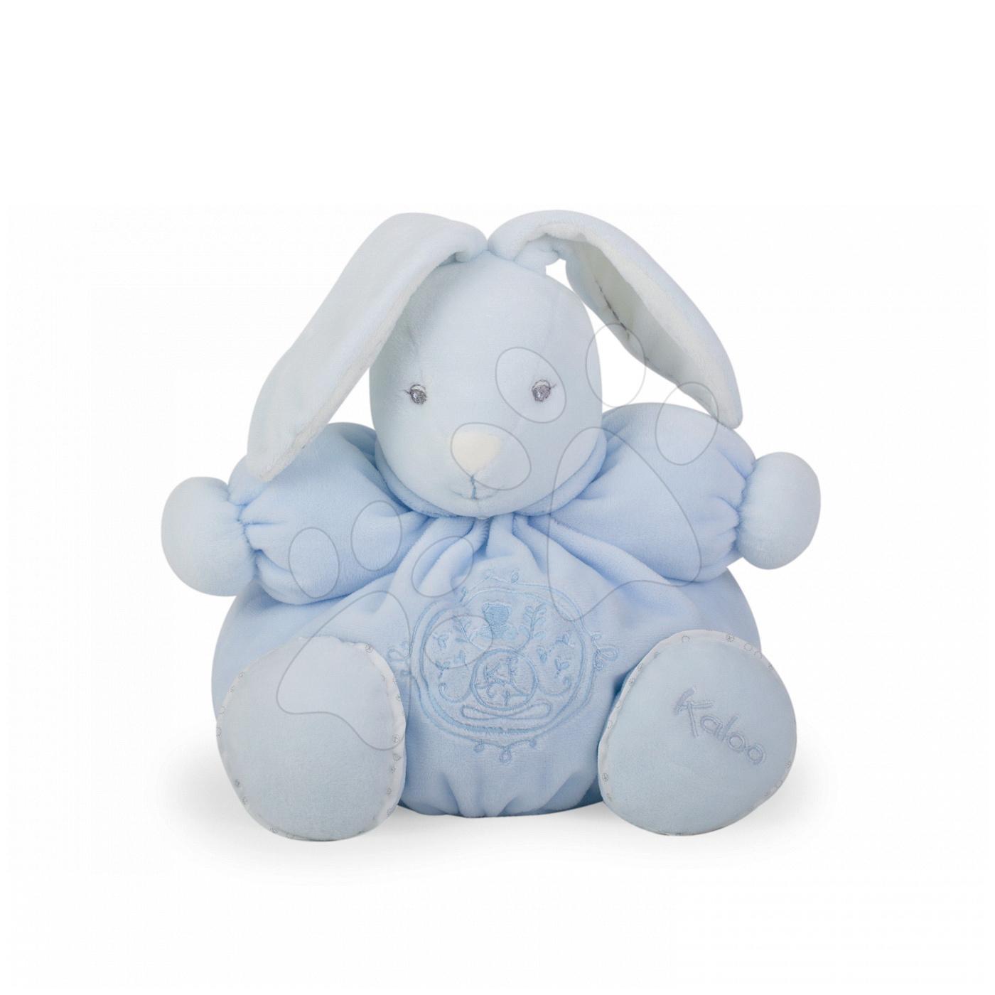 Plyšový králíček Perle-Chubby Rabbit Kaloo 25 cm v dárkovém balení pro nejmenší modrý