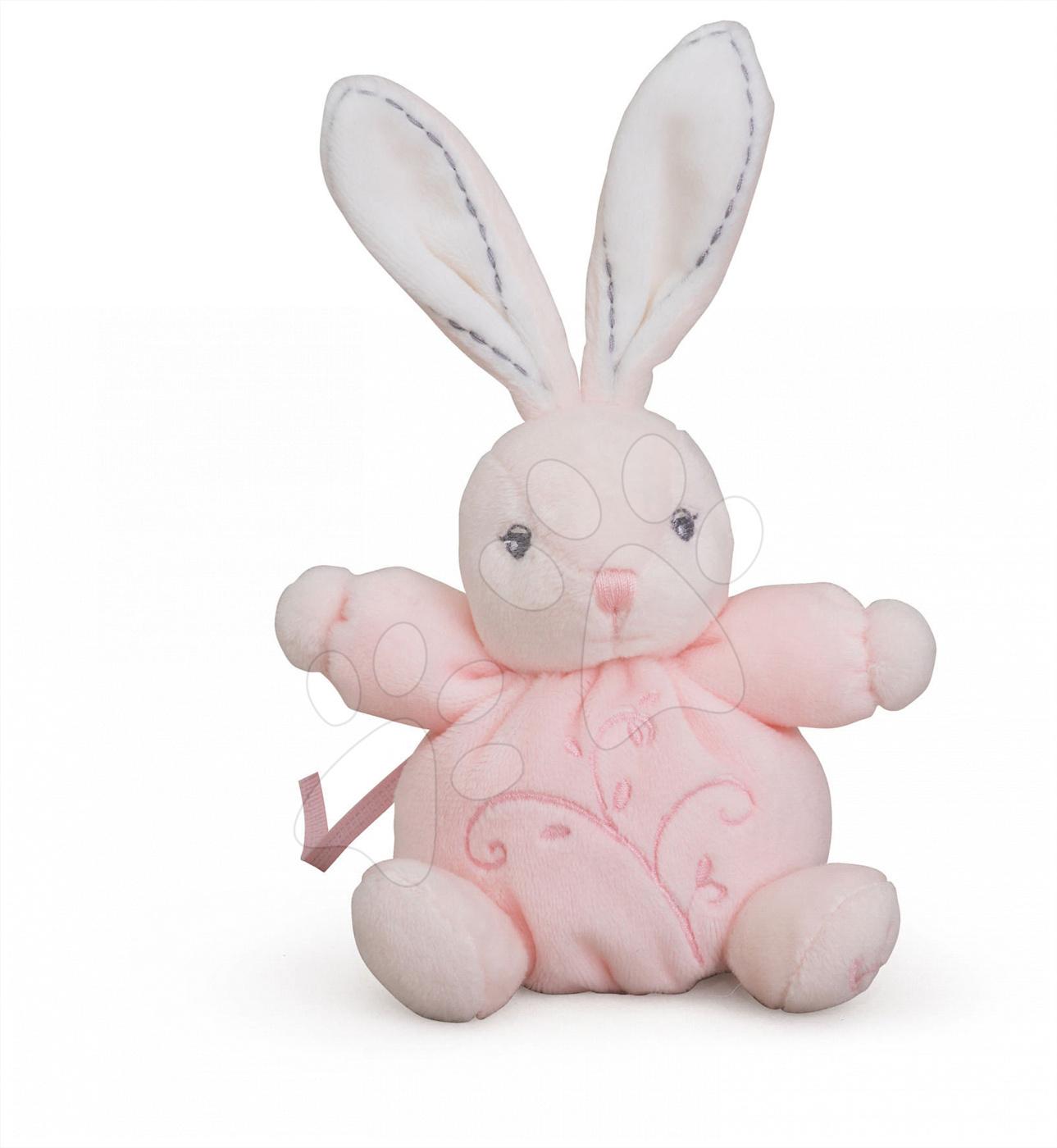Plyšový králíček Perle-Mini Chubbies Rabbit Kaloo 12 cm pro nejmenší růžový