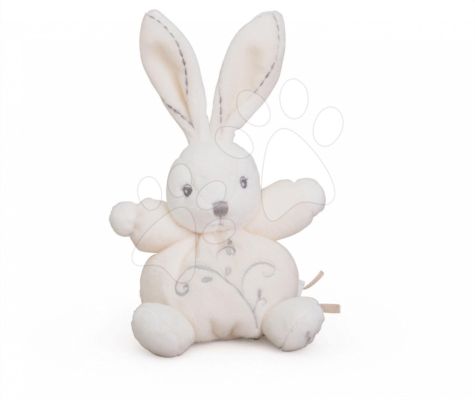 Hračky pre bábätká - Plyšový zajačik Perle-Mini Chubbies Rabbit Kaloo 12 cm pre najmenších krémový