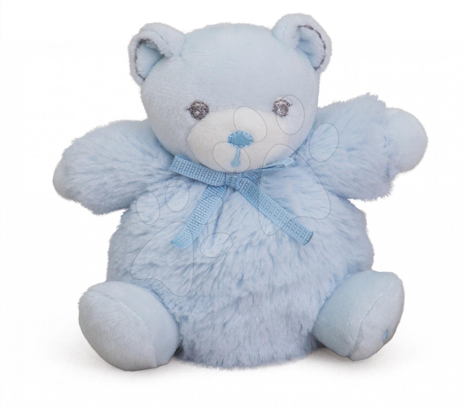 Plyšové medvede - Plyšový medvedík Perle-Mini Chubbies Bear Kaloo 12 cm pre najmenších modrý