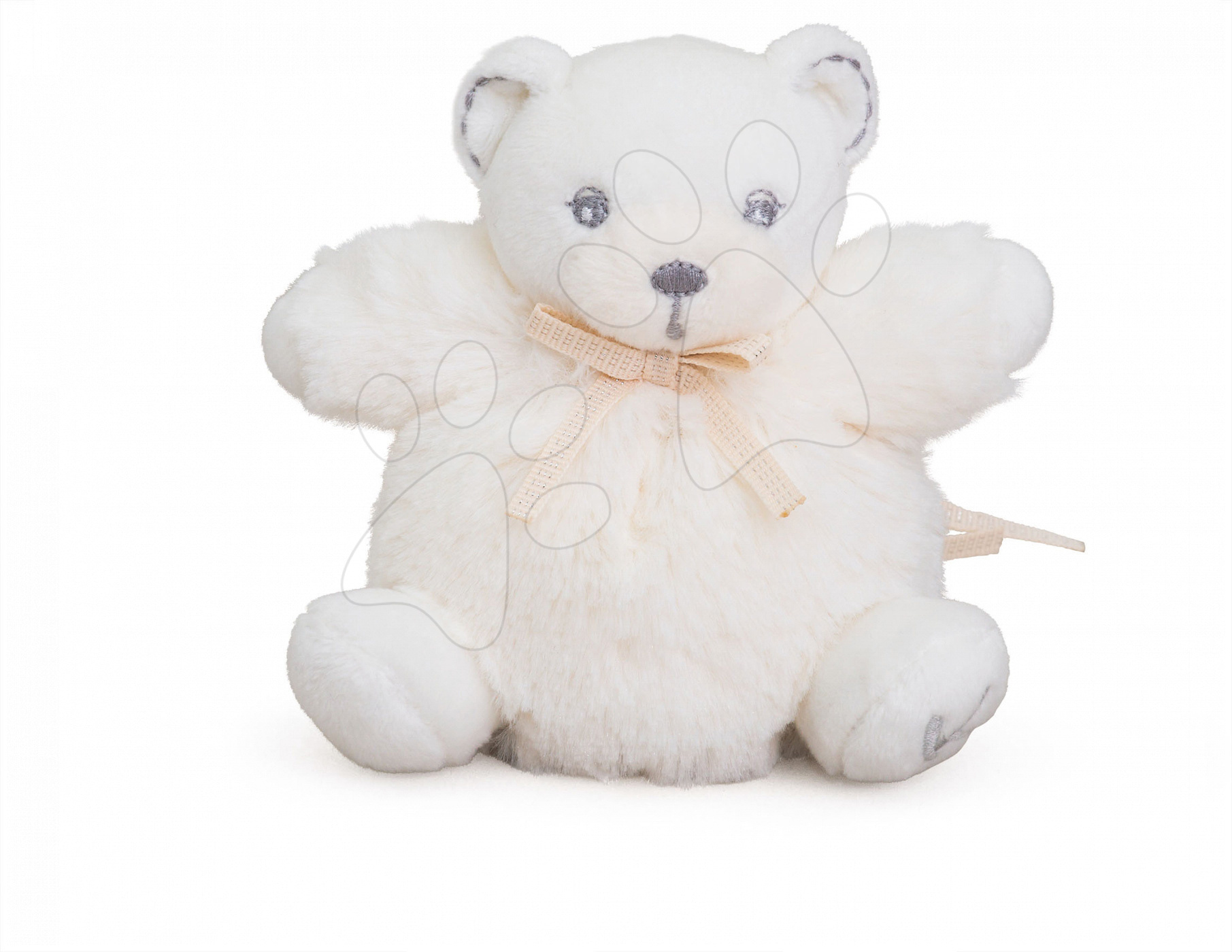 Plyšový medvídek Perle-Mini Chubbies Bear Kaloo 12 cm pro nejmenší krémový