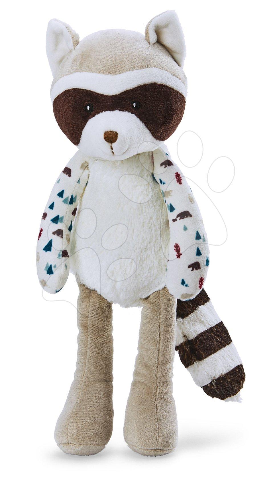 Plyšová panenka medvídek mýval Doll Raccoon Leon Classique Filoo Kaloo 35 cm v dárkové krabici od 0 měsíců