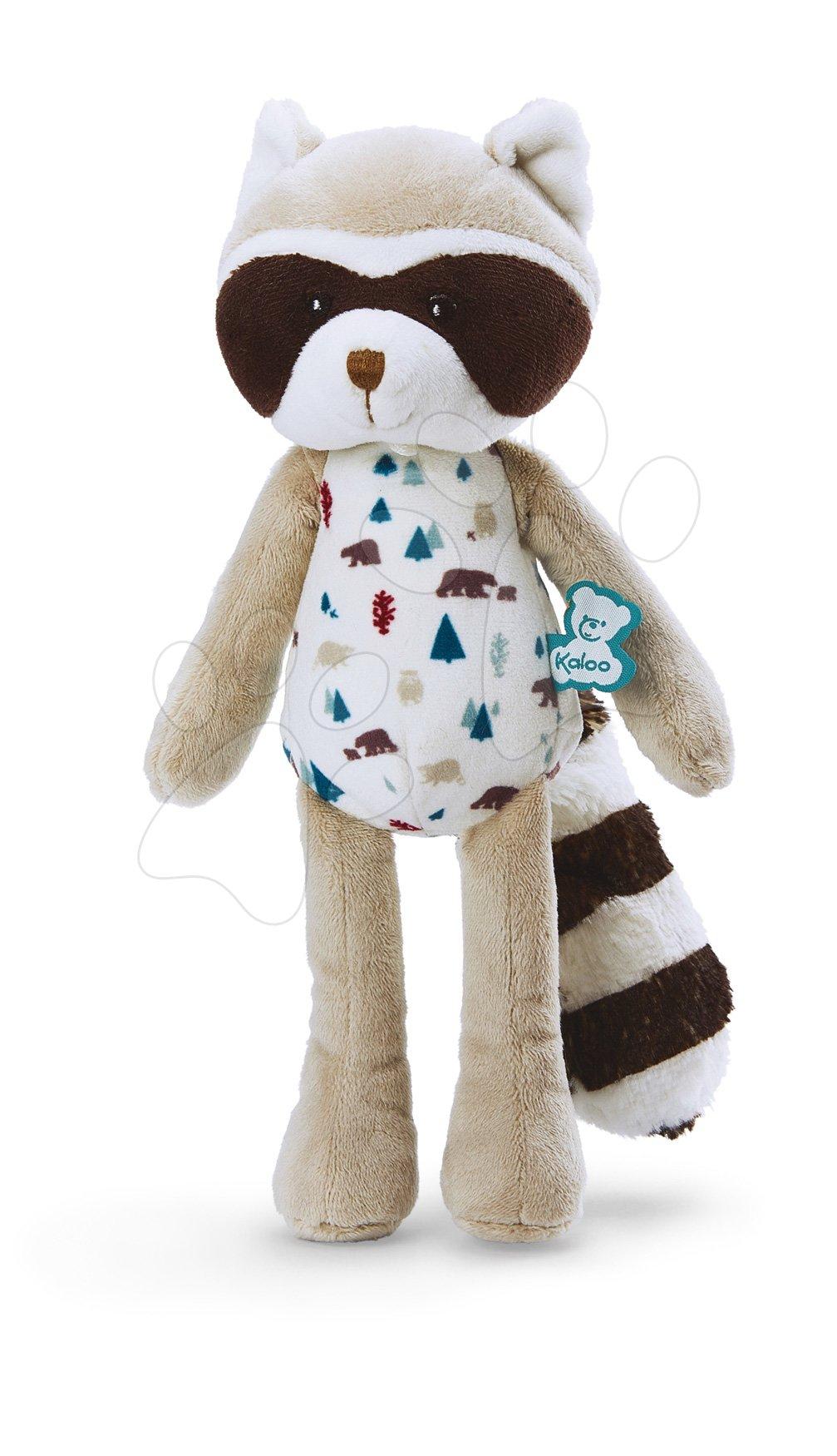 Plyšová bábika medvedík čistotný Doll Raccoon Leon Classique Filoo Kaloo 25 cm v darčekovej krabici od 0 mes