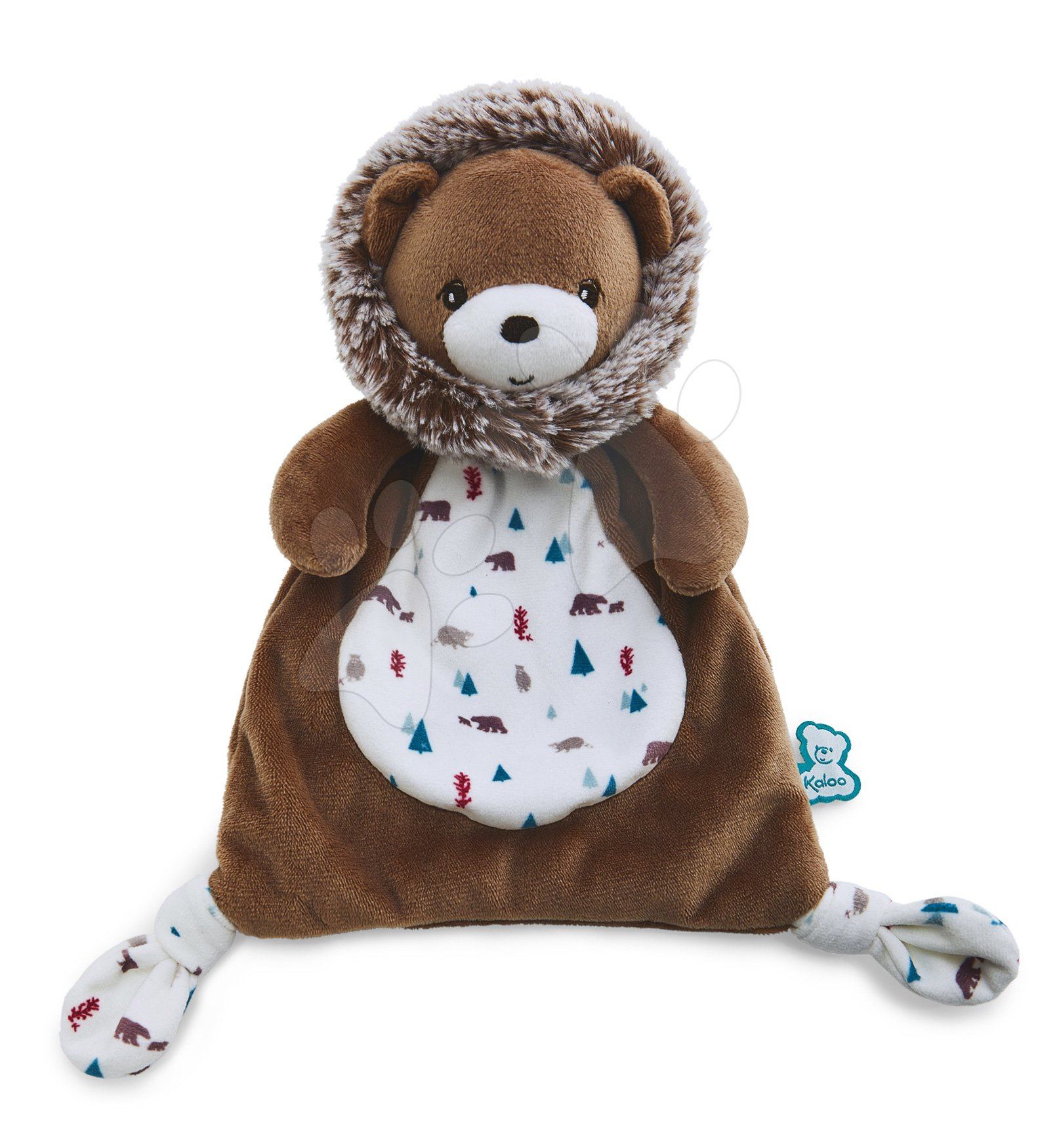 Plyšový medveď na maznanie Doudou Gaston Bear Classique Filoo Kaloo 20 cm v darčekovej krabici od 0 mes