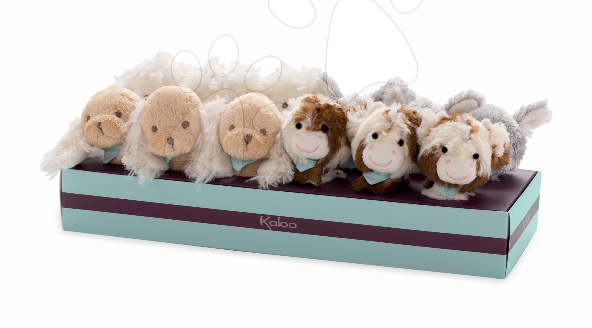 LES AMIS - SET OF 4 ASSORTED RATTLE BRACELETS Kaloo roztomilá plyšová zvířátka