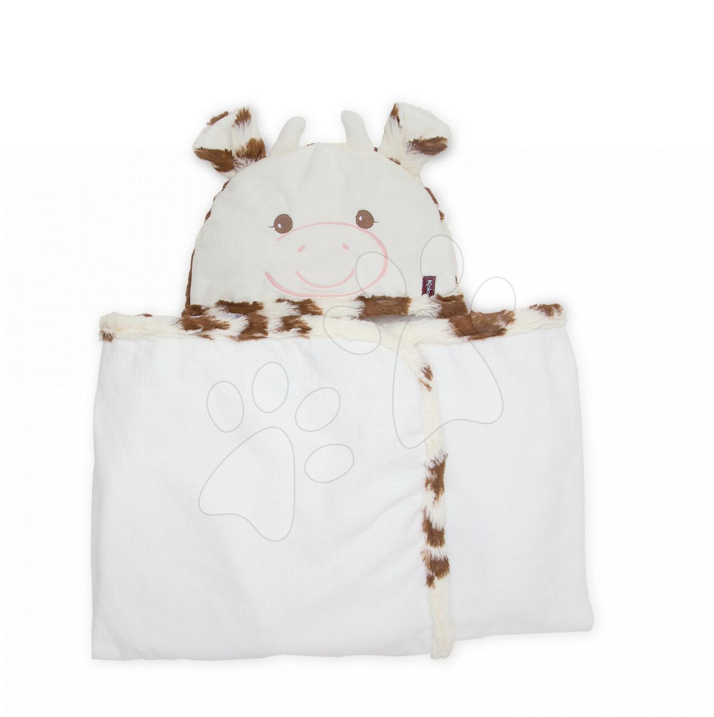 Kaloo osuška pro miminka Kravička Les Amis 962997 bílá