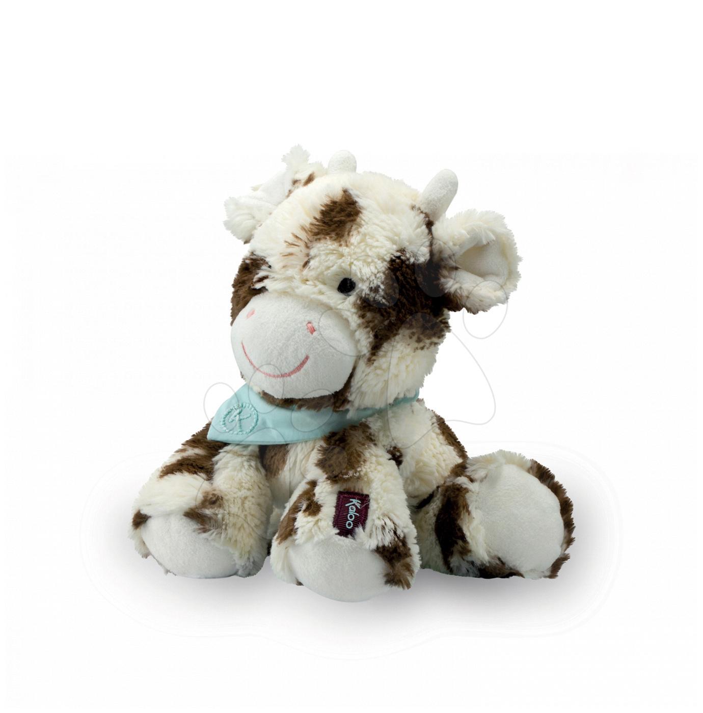 Plyšové zvieratká - Plyšová kravička Milky Les Amis-Vache Kaloo 25 cm v darčekovom balení pre najmenších