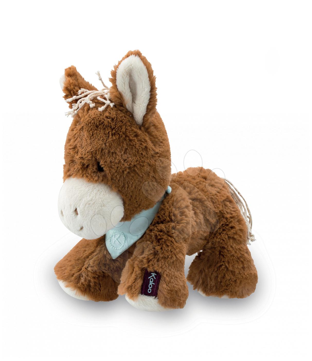 Plyšové zvieratká - Plyšový koník Mocha Les Amis-Cheval Kaloo 25 cm v darčekovom balení od 0 mes