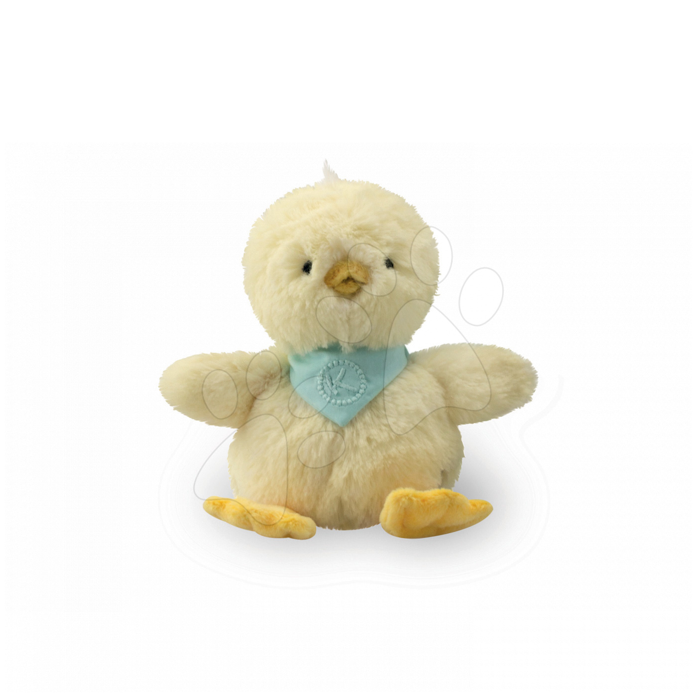Plyšové zvieratká - Plyšové kuriatko Lemon Les Amis-Poussin Kaloo 19 cm v darčekovom balení pre najmenších