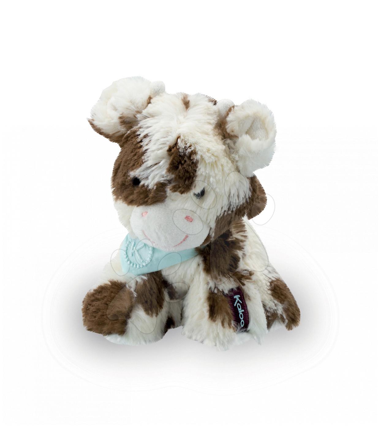 Plyšové zvieratká - Plyšová kravička Milky Les Amis-Vache Kaloo 19 cm v darčekovom balení pre najmenších