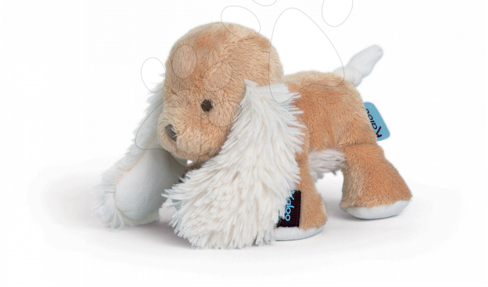 Plyšové zvieratká - Plyšový psík Caramel Les Amis-Chiot Kaloo 25 cm v darčekovom balení pre najmenších