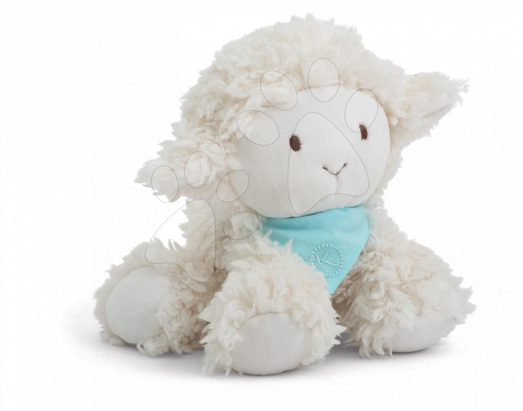 Plyšová ovečka Vanille Les Amis-Agneau Kaloo 25 cm v darčekovom balení pre najmenších
