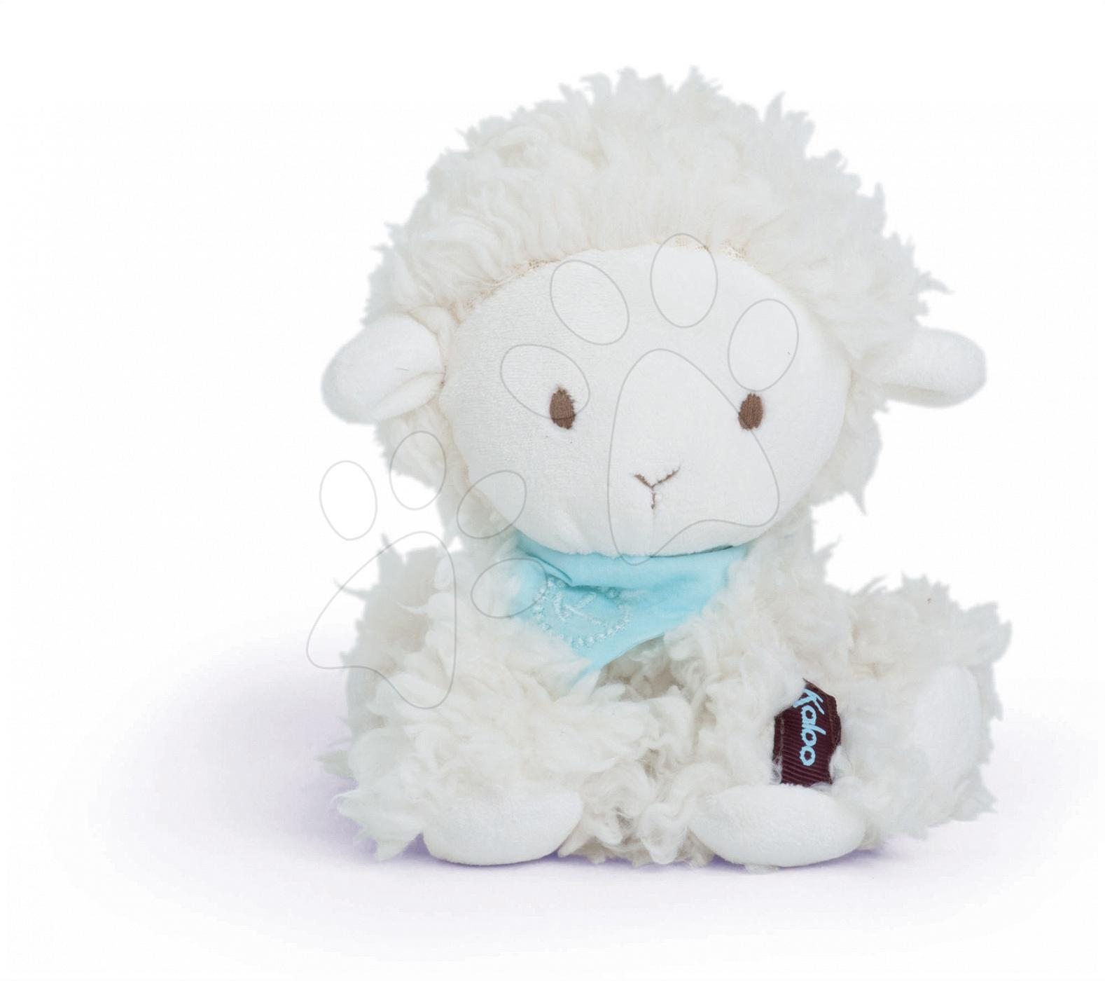 Plyšové zvieratká - Plyšová ovečka Vanille Les Amis-Agneau Kaloo 19 cm v darčekovom balení pre najmenších