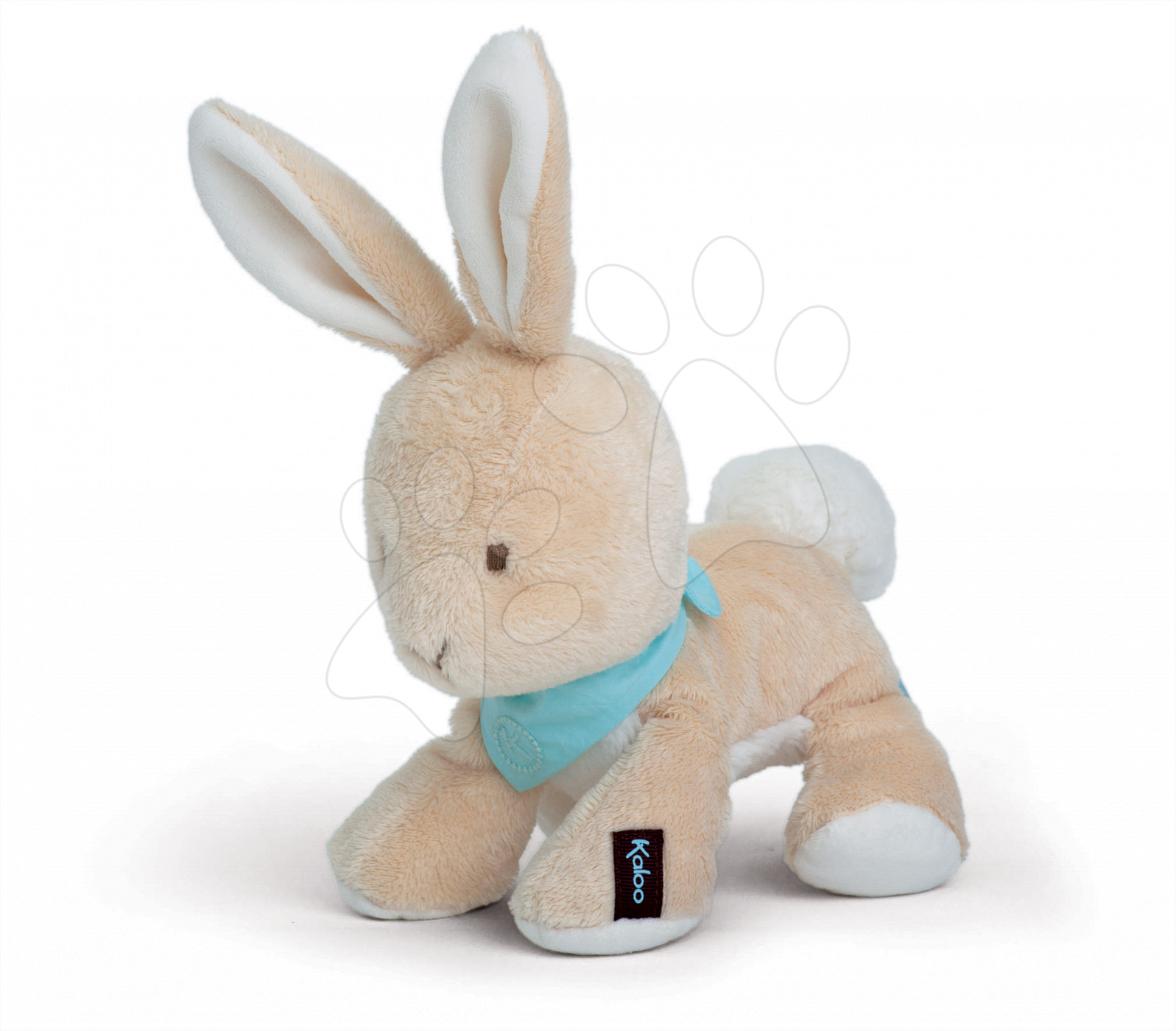 Plyšový králíček Praliné Les Amis-Lapinou Kaloo 19 cm v dárkovém balení pro nejmenší