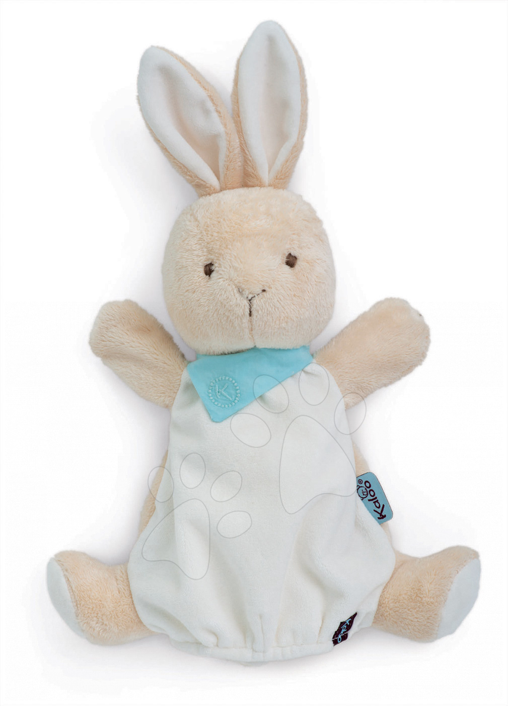 Plyšový králíček loutkové divadlo Kaloo Les Amis-Praliné Rabbit Doudou 30 cm