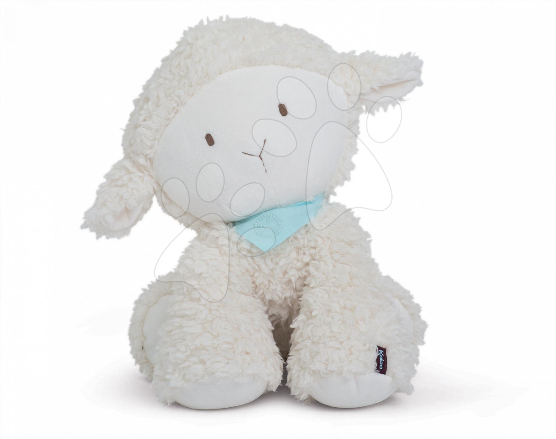 Plyšová ovečka Vanille Les Amis-Agneau Kaloo 45 cm pro nejmenší