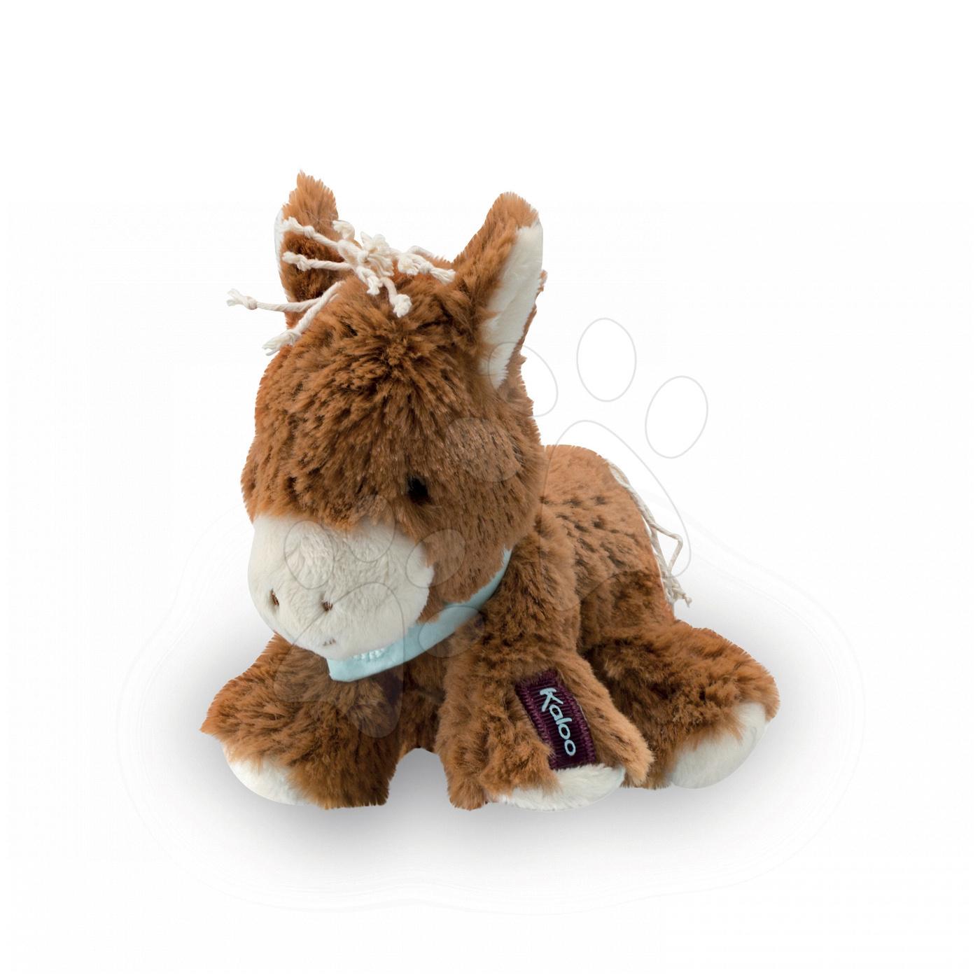 Plyšové zvieratká - Plyšový koník Mocha Les Amis-Cheval Kaloo 19 cm v darčekovom balení pre najmenších