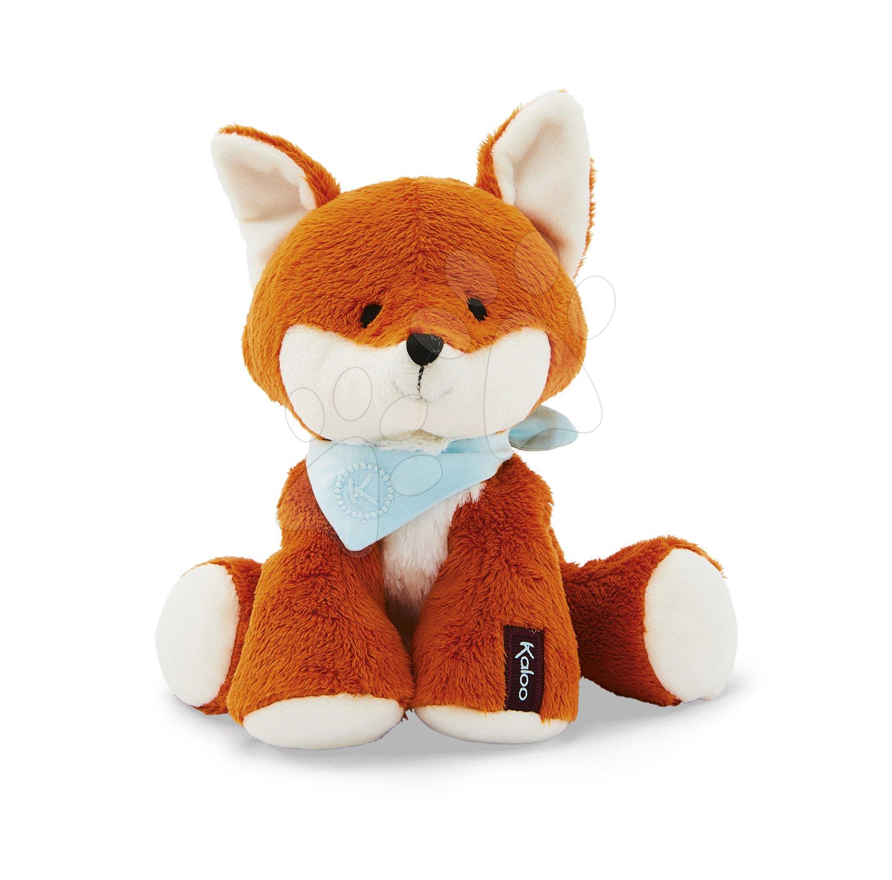 Plyšová líška Les Amis Kaloo Paprika Fox 25 cm z jemnej mäkkej plyše v darčekovej krabičke od 0 mes