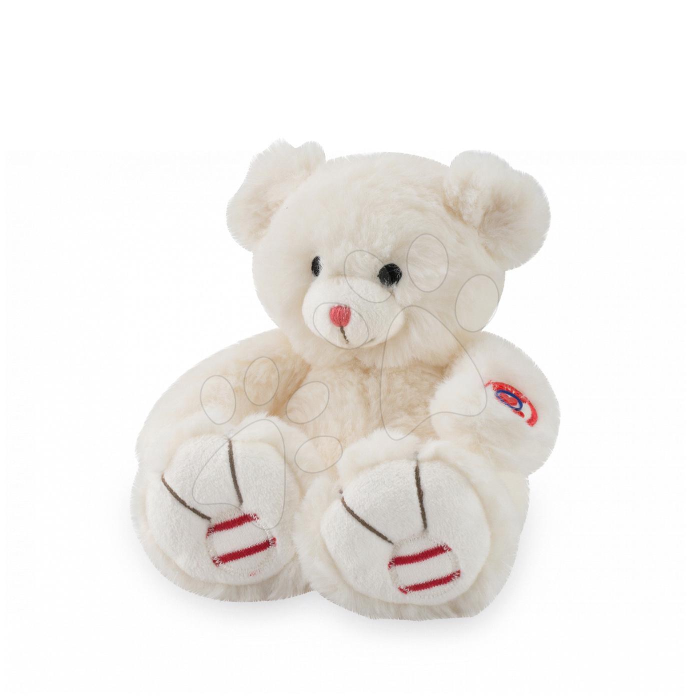 Plyšový medvěd Rouge Kaloo 19 cm pro nejmenší krémový