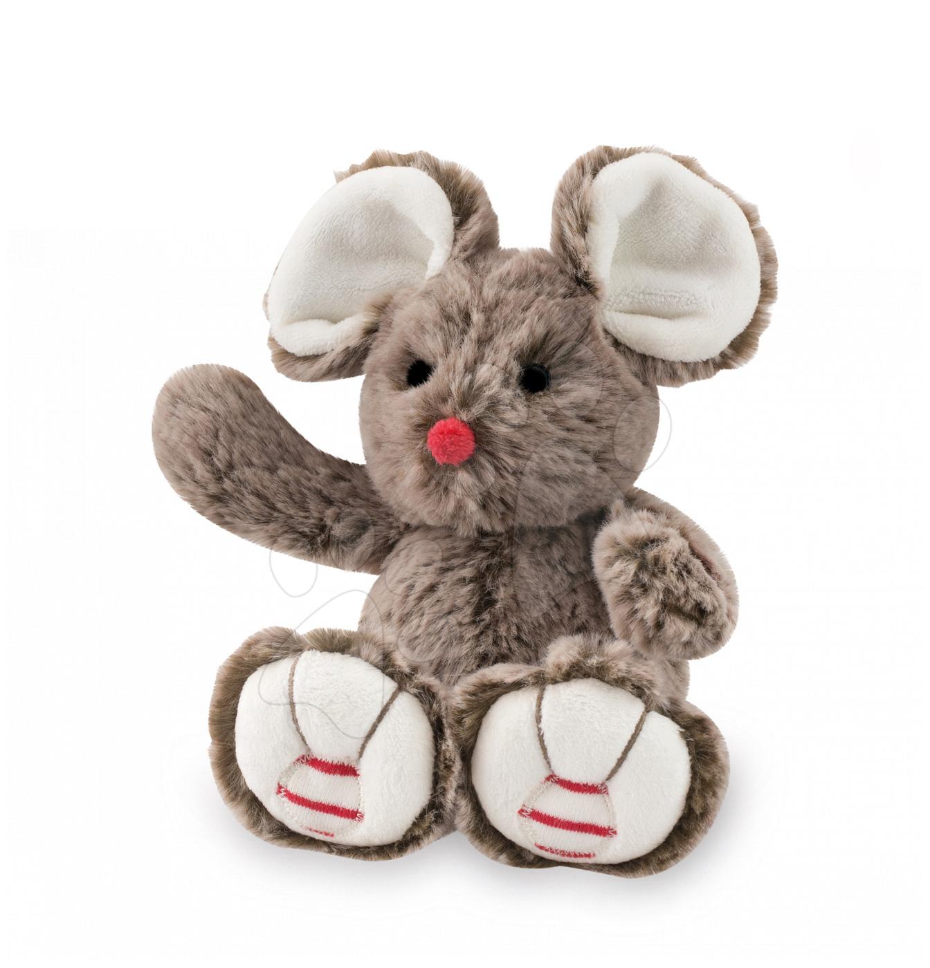Plyšové zvieratká - Plyšová myška Rouge Kaloo 19 cm pre najmenších hnedá