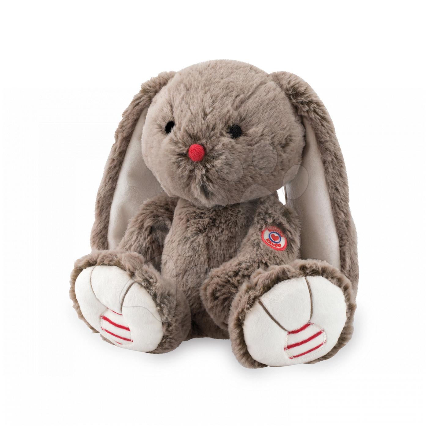 Hračky pre bábätká - Plyšový zajačik Rouge Kaloo 31 cm pre najmenších hnedý
