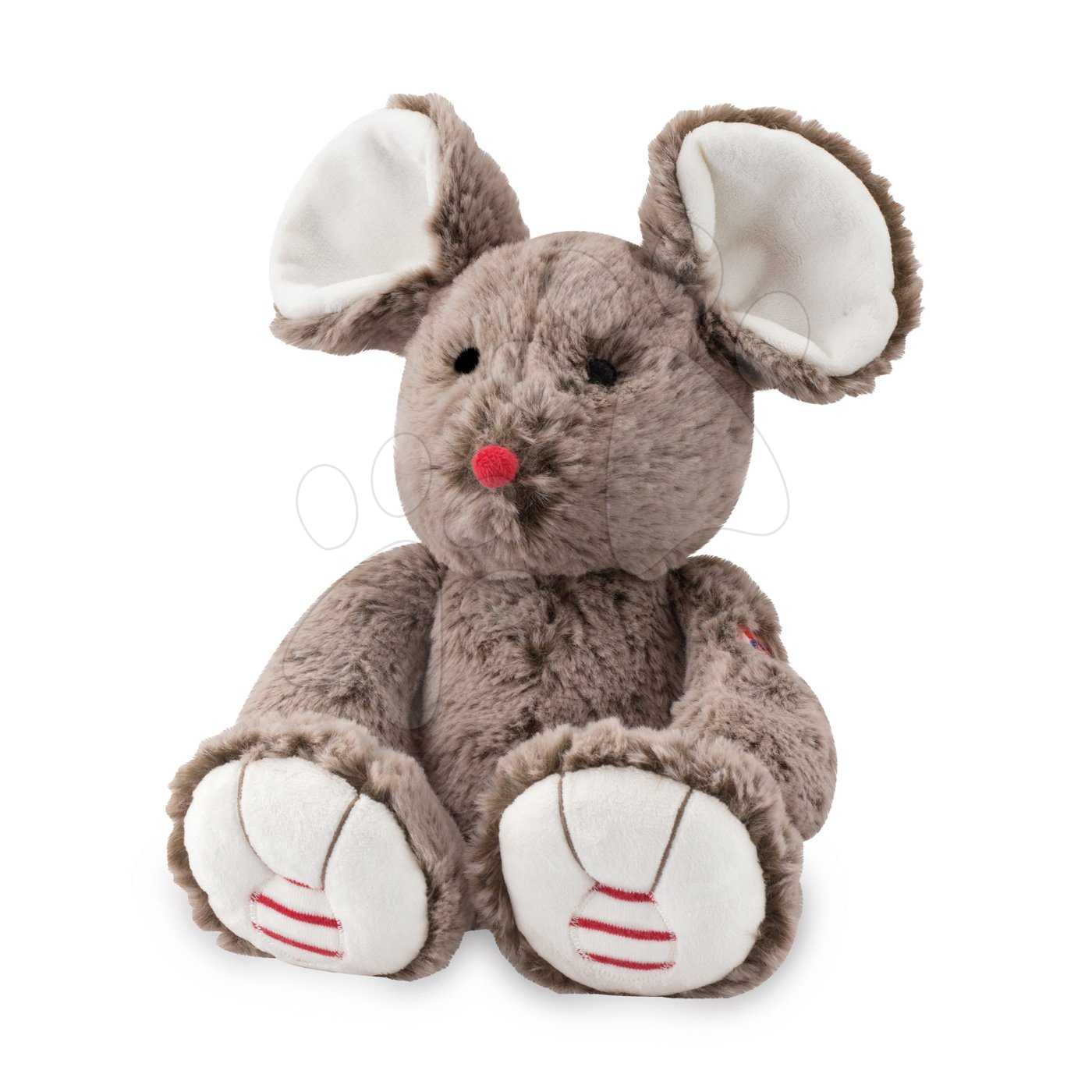 Plyšové a textilní hračky - Plyšová myška Rouge Kaloo 31cm pro nejmenší hnědá