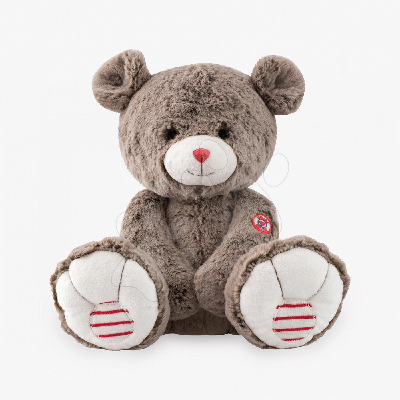 Plyšový medveď Rouge Kaloo 38 cm pre najmenších hnedý