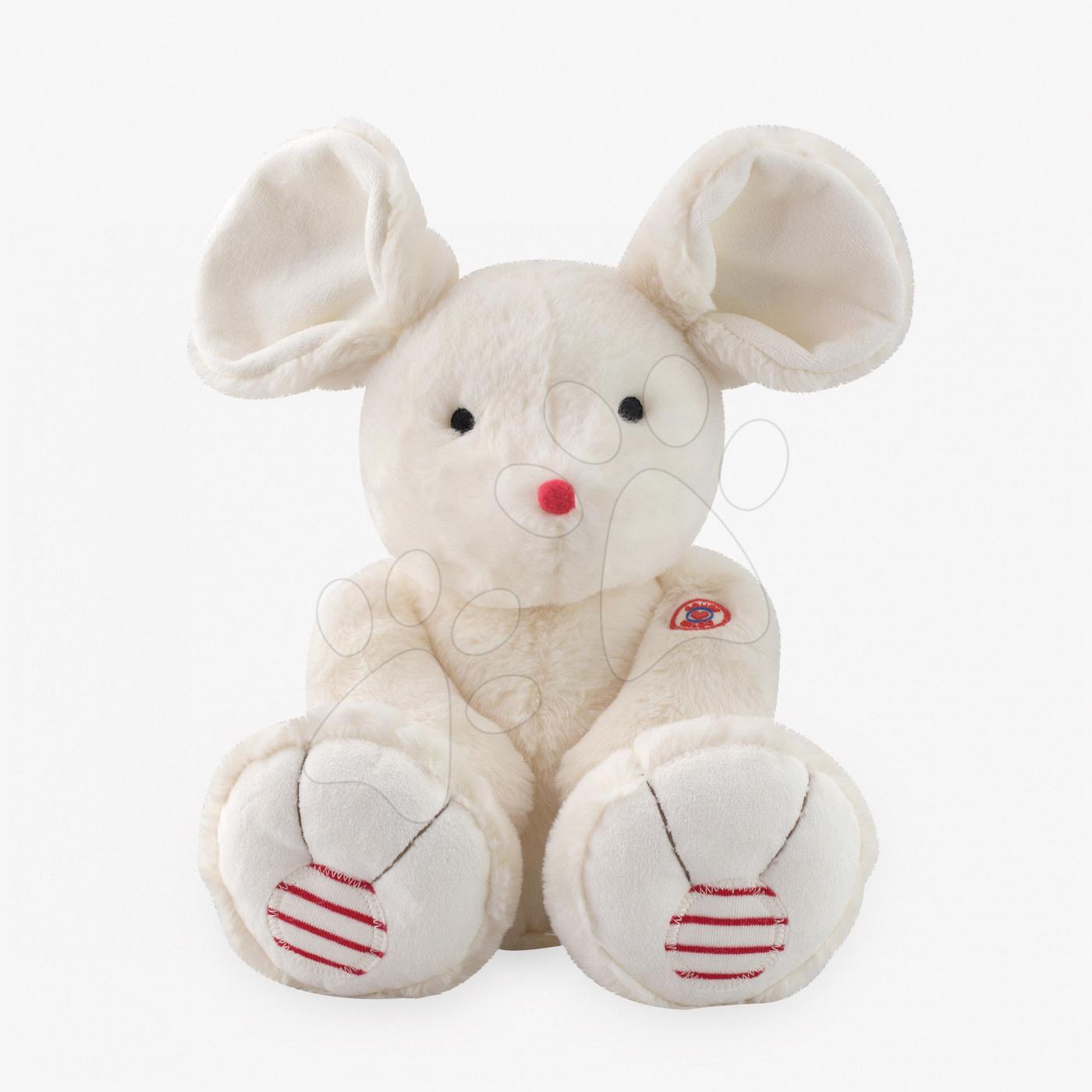 Plyšové zvieratká - Plyšová myška Rouge Kaloo 38 cm pre najmenších krémová