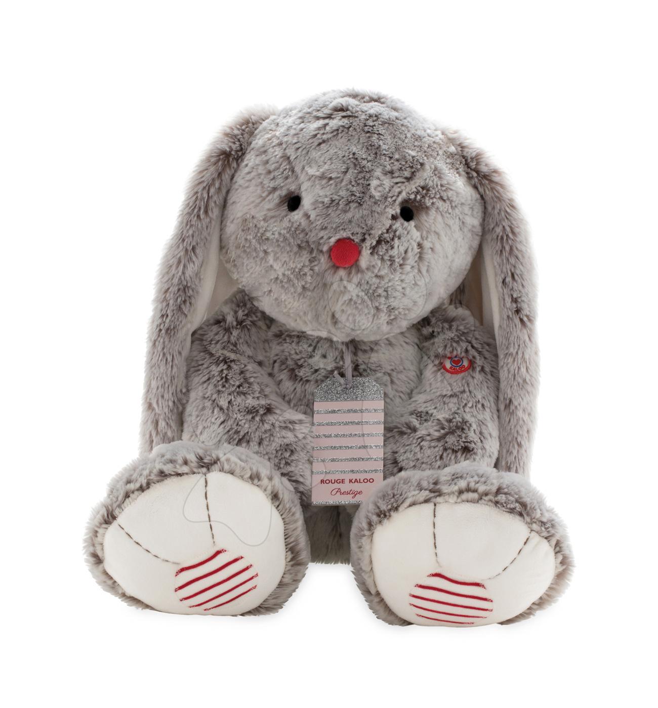 Kaloo plyšový zajko pre deti Rouge Prestige 963539 krémovo-šedý