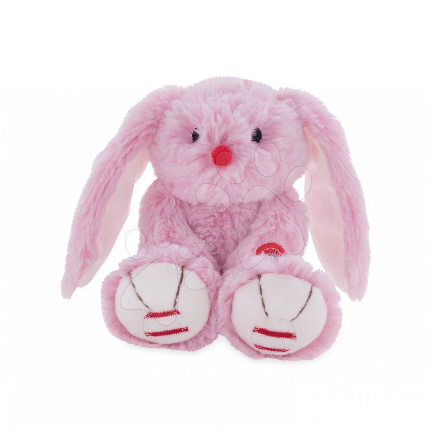 Kaloo plyšový zajačik Rouge Small pre najmenších 963545 ružovo-krémový
