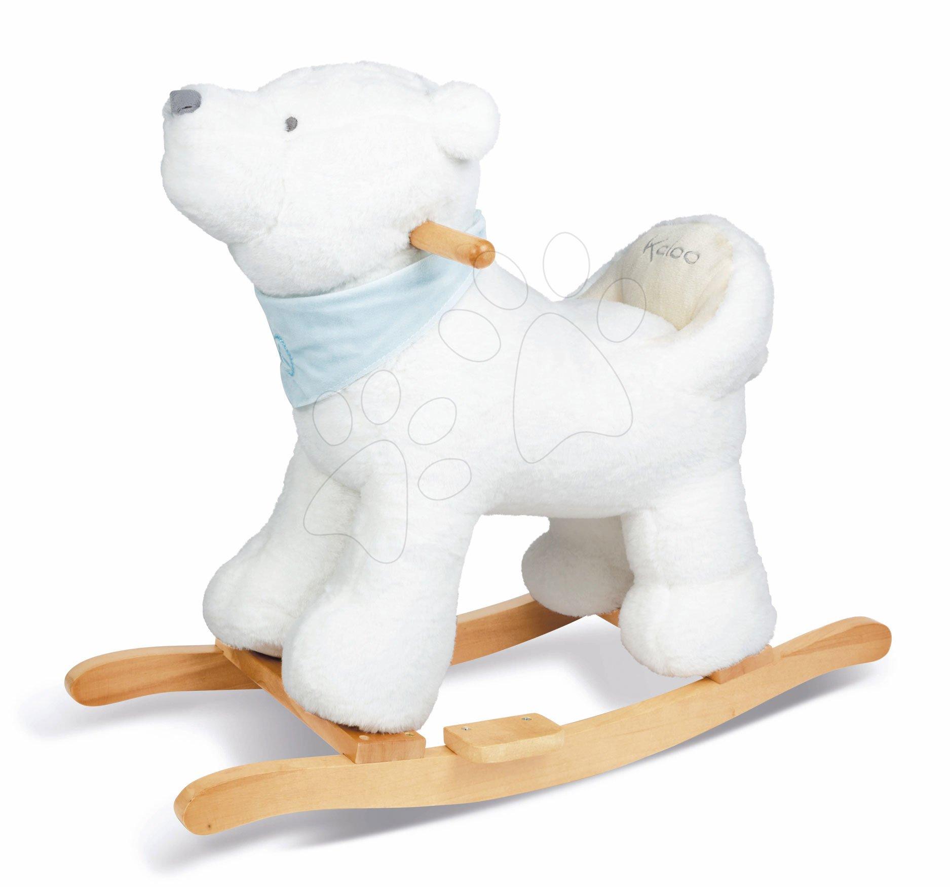 Hračky pro miminka - Plyšový houpací medvěd Flocon Rocking Les Amis Kaloo 57 cm vysoký od 12 do 36 měsíců